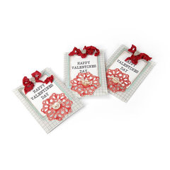 Happy Valentine Treat Bags by Deena Ziegler