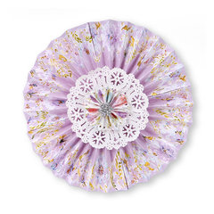 Purple Lace Rosette by Beth Reames