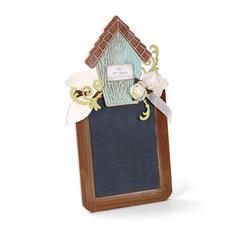 Birdhouse Chalkboard by Beth Reames