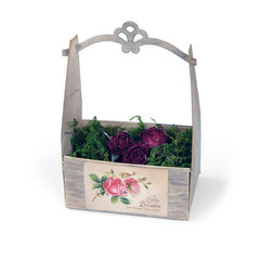 Vintage Rose Crate by Beth Reames