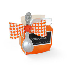 Carrots Baby Jar by Debi Adams