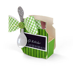 Peas Baby Jar by Debi Adams