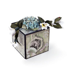 Hydrangea Stephanotis Gift Box by Susan Tierney-Cockburn
