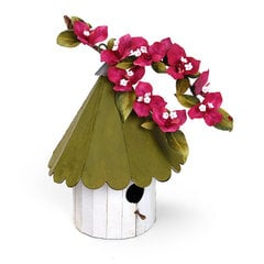 Bougainvillea Birdhouse by  Susan Tierney-Cockburn