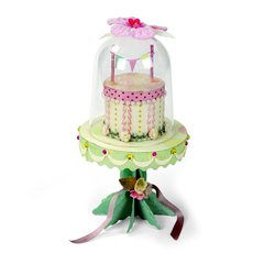 Mini Cake & Stand by Brenda Walton