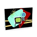 Retro TV Card by Debi Adams