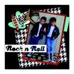 Rock 'n' Roll Forever Scrapbook Page by Debi Adams