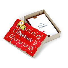 Celebrate Gift Card Box by Deena Ziegler