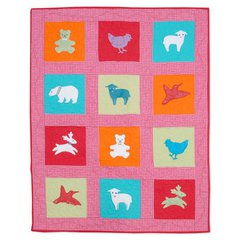 Baby Animals Quilt by Jorli Perine