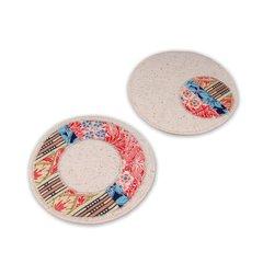 Reversible Ring Coaster by Linda Nitzen