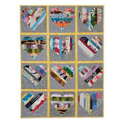 He Love Me, He Loves Me Not Quilt by Cheryl Adam