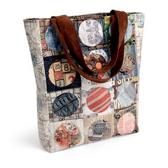 Enjoy the Journey Tote by Kathy Ranabargar