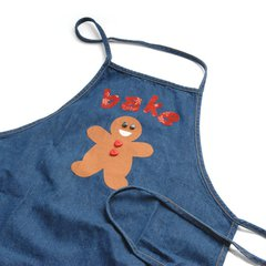 Bake Gingerbread Apron by Linda Nitzen