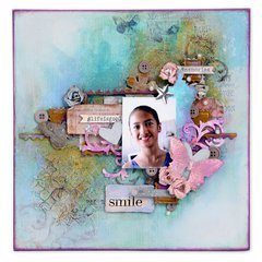 #Life is Good Scrapbook Page