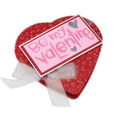 Embossed Be My Valentine by Deena Ziegler