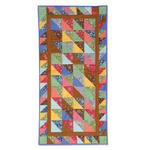 Triangle/Squares Table Runner by Cheryl Adam, Guest Quilter