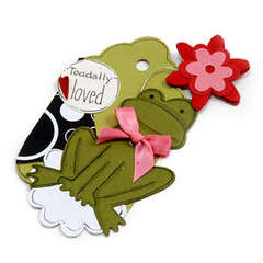 Toad-ally Loved Frog Tag - Debi Adams