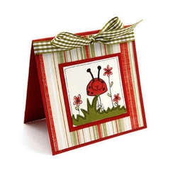 Lady Bug Card - Debi Adams