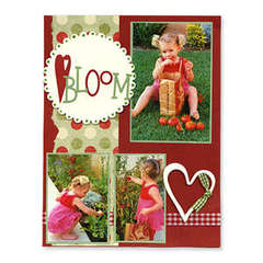 Bloom Scrapbook Page - Deena Ziegler