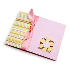 Movers and Shapers Flower card