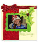 Happy Holidays Scrapbook Page - Cara Mariano