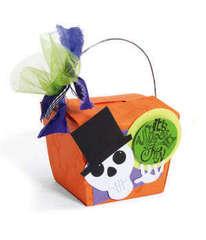 It's Spooky Fun Take Out Box