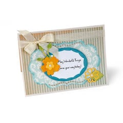 May Wonderful Things featuring new Sizzix Thinlits Dies