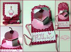 Pop Up Cupcake Card by Karen Burniston