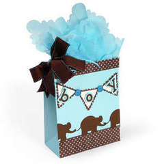 Baby Boy Banner Bag by Debi Adams