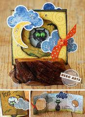 Spooky Tri-Fold by Lisa Spangler