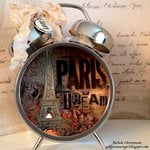 Paris Assemblage Clock by Rachel Christensen