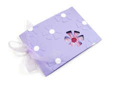 Sizzix Flower Card