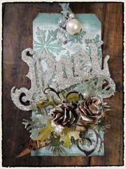 Tim Holtz 2011 12 Tags of Christmas - Tag 1