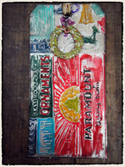 Tim Holtz 2011 12 Tags of Christmas - Tag 6