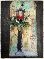 Tim Holtz 12 Tags of Christmas - Tag 9 Bonus