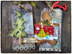 Tim Holtz 2011 12 Tags of Christmas - alternative to Tag 2