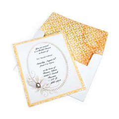 Elegant Bridal Shower Invitation by Cara Mariano