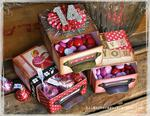 Valentine Vintage Candy Boxes