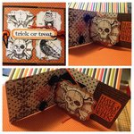 Halloween Pop 'n Cuts card by Designer Mona Rozycki
