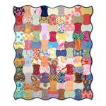 Apple Core Quilt by  Cheryl Adam, Guest Quilter