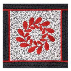 Festive Feathering Wall Hanging by Linda Nitzen