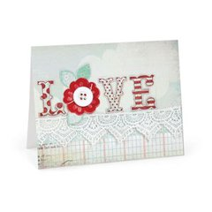 Love, Flowers, and Lace Card by Beth Reames