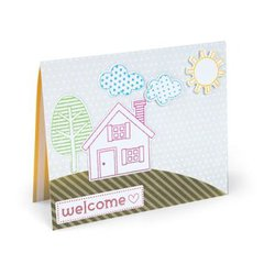 Welcome Home Card by Cara Mariano