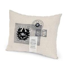 Fleur de Lis Pillow by Debi Adams