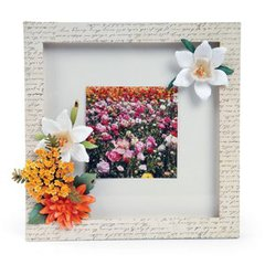 Spring Fields Frame by Deena Ziegler