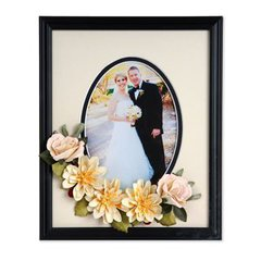 Dahlia Rose Wedding Frame by Susan Tierney-Cockburn