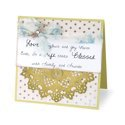 Blessed with Friends and Family Card by Deena Ziegler