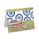 Happy Birthday Motorcycle Card by Beth Reames