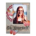 Be Yourself Scrapbook Page by Deena Ziegler