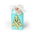 Merry Christmas Tree Milk Carton by Deena Ziegler